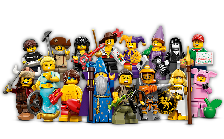 Photo of Lego minifigures